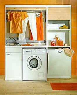 Mobili salvaspazio - Mobili per lavanderia domestica ...